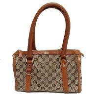 Mini Boston Gucci GG Canvas Bag