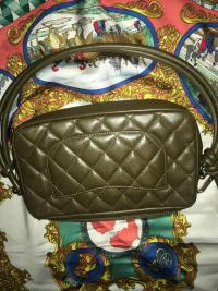 Chanel Lambskin and Snakeskin  Angle4