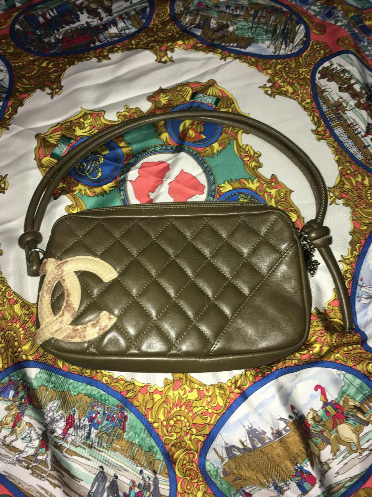 Chanel Lambskin and Snakeskin
