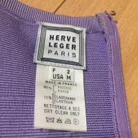 100% Authentic Herve Leger Dress Size M Made In Fr Angle3