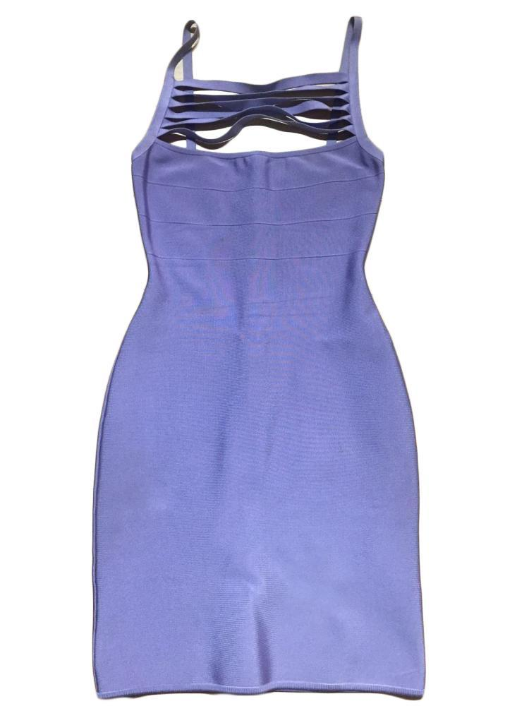 100% Authentic Herve Leger Dress Size M Made In Fr