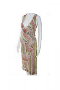 Missoni MULTI-COLOR STRIPED SLEEVELESS NWT