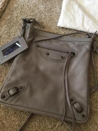NWT Balenciaga Classic Crossbody Bag Angle4