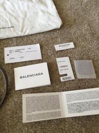 NWT Balenciaga Classic Crossbody Bag Angle5