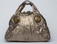 Gucci Large Gold Handbag Angle2