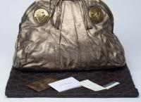 Gucci Large Gold Handbag Angle3