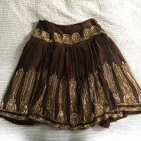 Tracy Reese Silk and Sequin Skirt Size 8