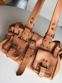 Roxanne Leather Satchel by Mulberry Angle3