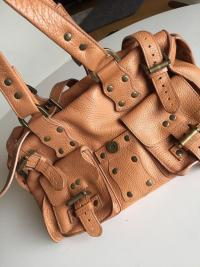 Roxanne Leather Satchel by Mulberry Angle7