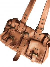 Roxanne Leather Satchel by Mulberry Angle1