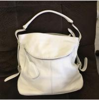 Pebble Cremé Furla Shoulder Hobo bag! Angle3