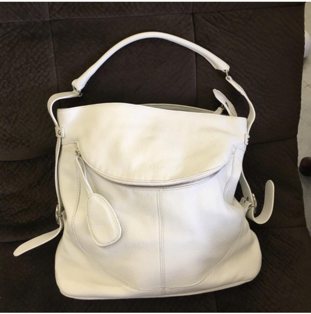Pebble Cremé Furla Shoulder Hobo bag!