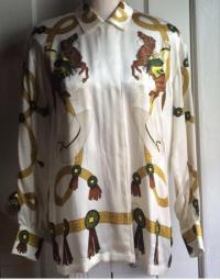 Escada Vintage Silk Blouse