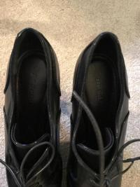 Black Jill Sander Booties. Sz: 10 Angle5
