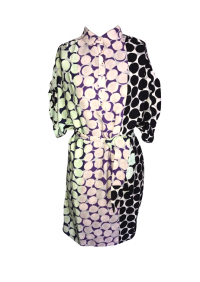 DVF printed dress with belt