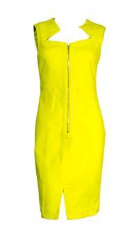 Yigal Azrouel yellow dress