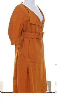 Marni Duster Coat Short Sleeve Dress Skirt  Angle2