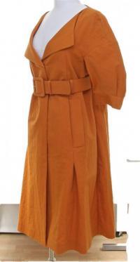 Marni Duster Coat Short Sleeve Dress Skirt  Angle3