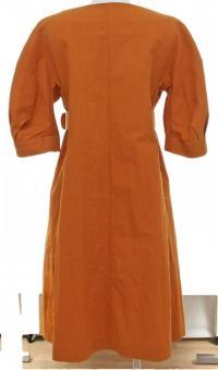 Marni Duster Coat Short Sleeve Dress Skirt  Angle4