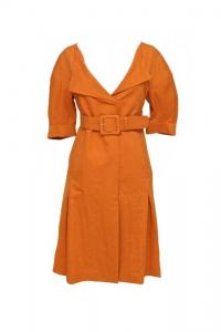 Marni Duster Coat Short Sleeve Dress Skirt