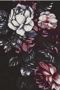 McQ Sliding Seam Floral-Print Dress Angle4