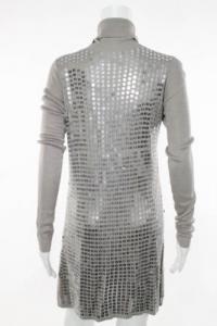 Long sleeve sequin sweater dress Angle3