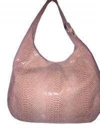 Leather Tote Python Handbag Michael Kors