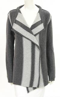 James Perse Gray Wool wrap Cardigan