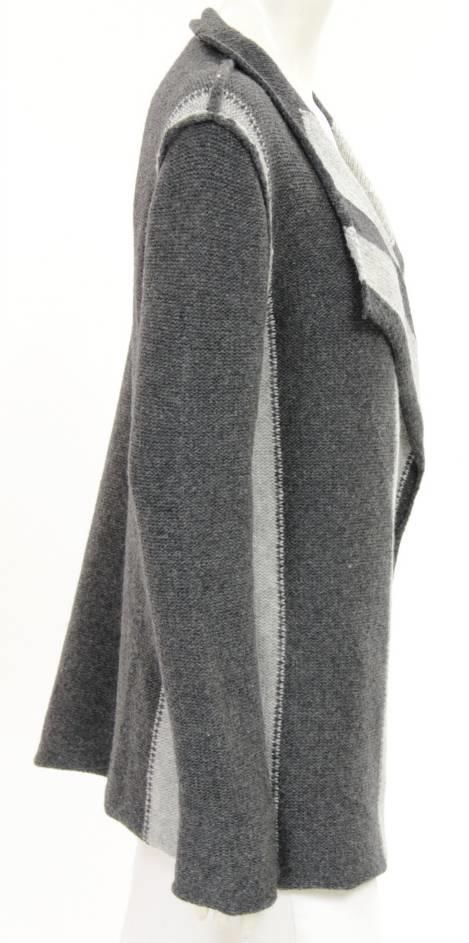 James Perse Gray Wool wrap Cardigan