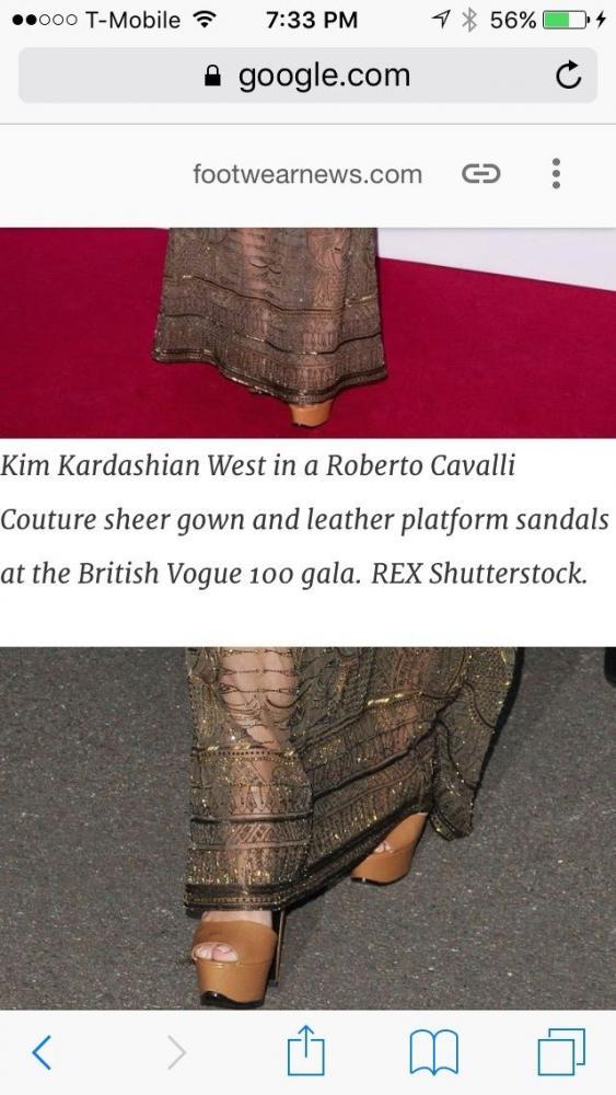 Roberto Cavalli sandals nude heels as seen on Kim