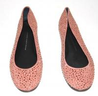 Ballet Slip On Flats Suede shoes-Giuseppe Zanotti