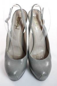 Slingback Stiletto Heel Pumps-YSL Angle2