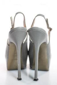 Slingback Stiletto Heel Pumps-YSL Angle3
