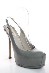 Slingback Stiletto Heel Pumps-YSL