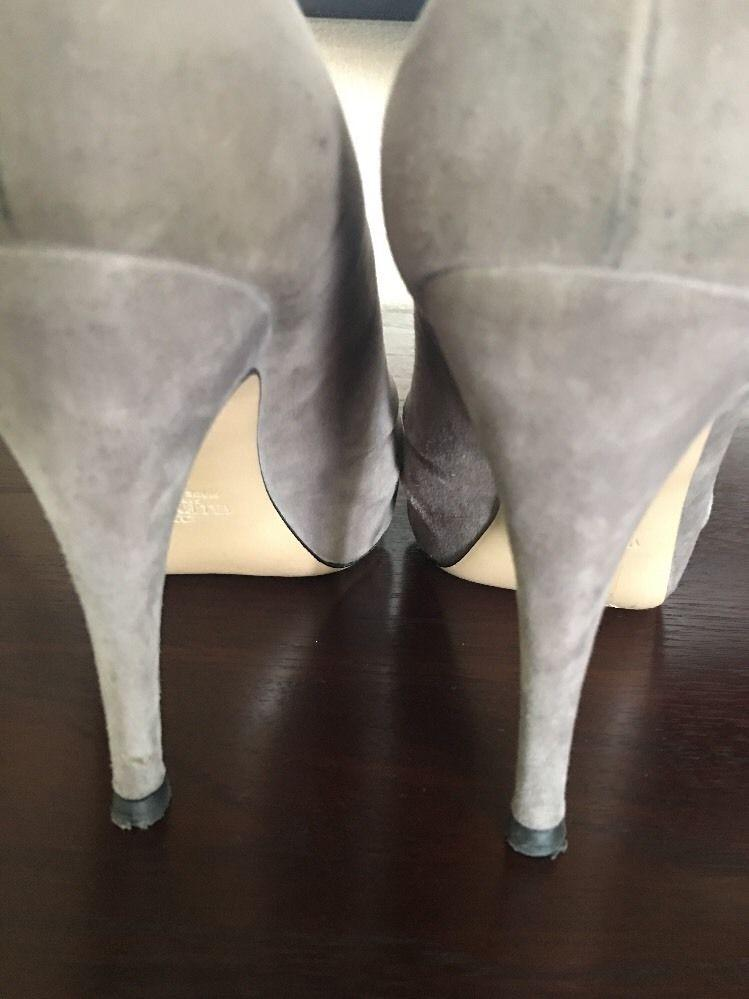 Valentino Bootie Stiletto Rouched Pump With Bow