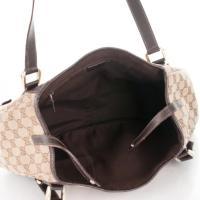 GUCCI Abbey Shoulder Monogram Bag Angle5