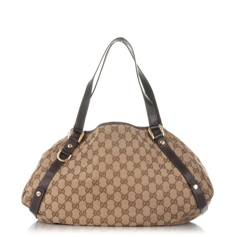 GUCCI Abbey Shoulder Monogram Bag