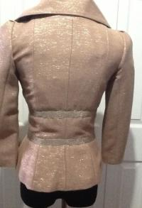 Tracy Reese metallic bow jacket Angle3