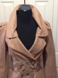 Tracy Reese metallic bow jacket Angle4