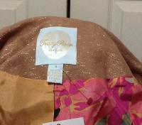 Tracy Reese metallic bow jacket Angle5