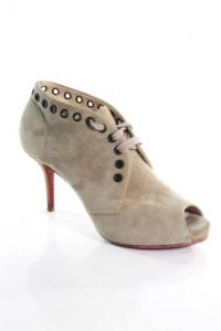 Christian Louboutin High Heel Peep Toe  Pumps  Angle1