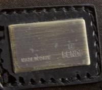 FENDI mini borsa Patent leather bag Angle2
