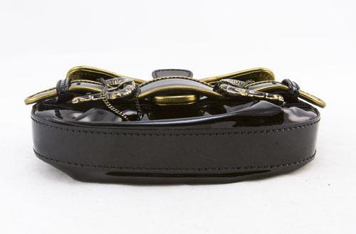 FENDI mini borsa Patent leather bag