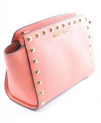 Michael Kors Studded Messenger Bag Purse  Angle3