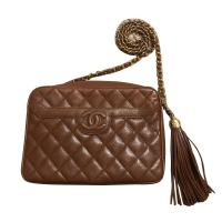 Chanel Quilted Caviar Leather Camera Bag  Angle1