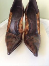 Stella McCartney Brown Scarpa heel Angle3