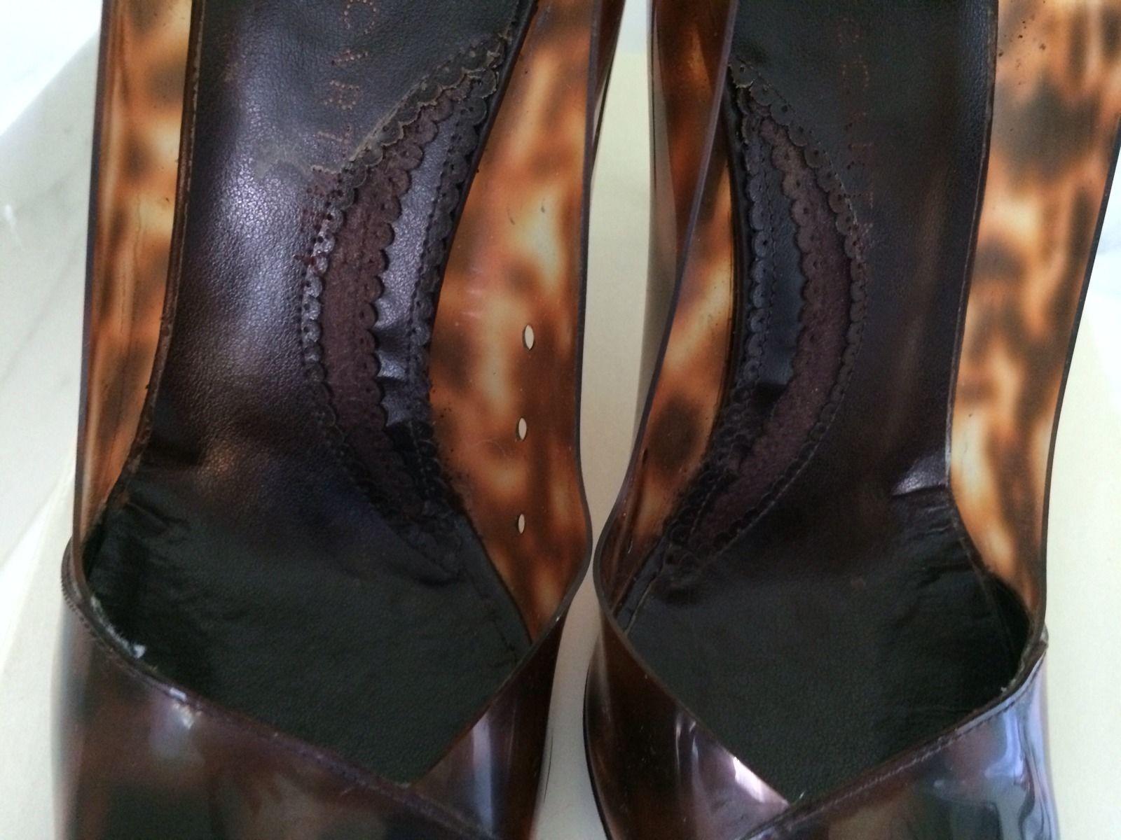 Stella McCartney Brown Scarpa heel