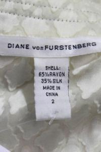 DVF ruffle silk blouse with darts Angle4