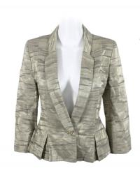 MATTHEW WILLIAMSON metallic blazer Angle1