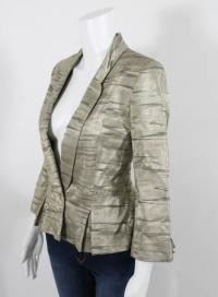 MATTHEW WILLIAMSON metallic blazer Angle2